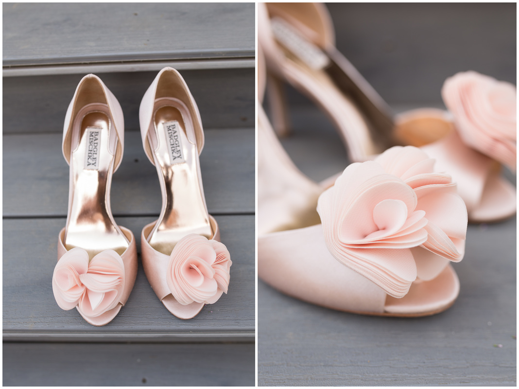 Blush bridal shoes, doe creek farm wedding, wedding shoes, bridal shoes, blush wedding, pink and gold wedding