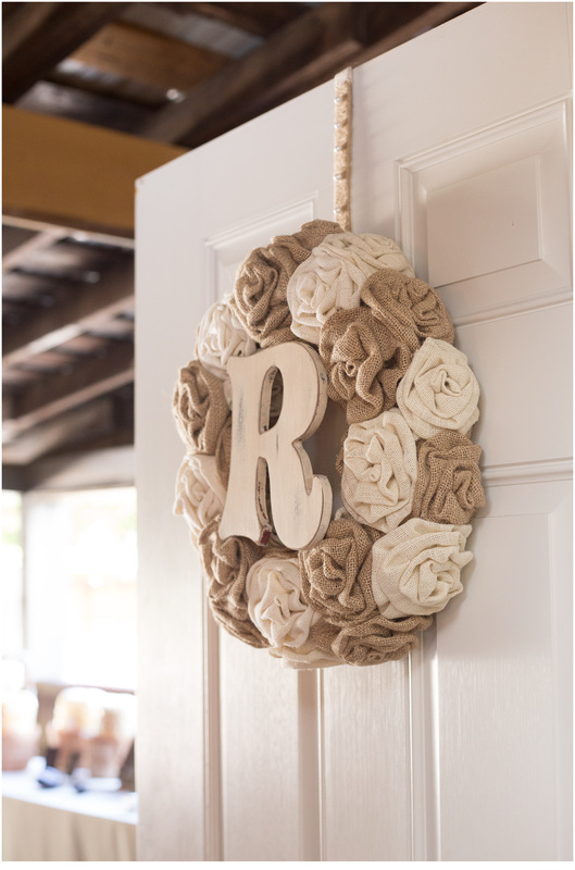Little river country crafts, burlap wreath, diy wedding, burlap and lace
