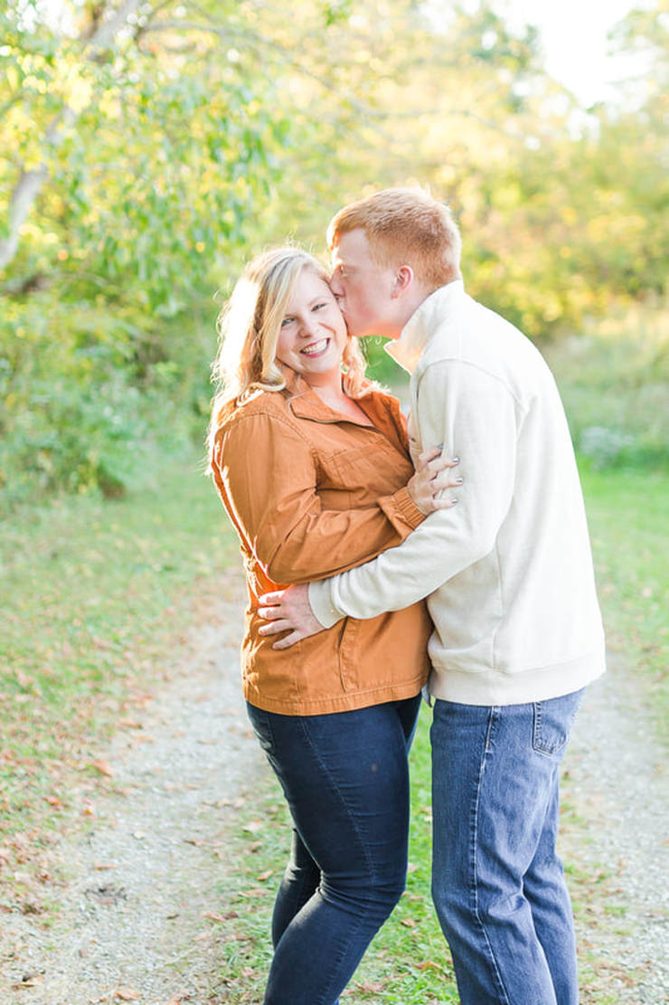 Hollins University Engagement Photos, Roanoke engagement photographer, wedding photographer near roanoke va, fall engagement photos, blacksburg va engagement photos